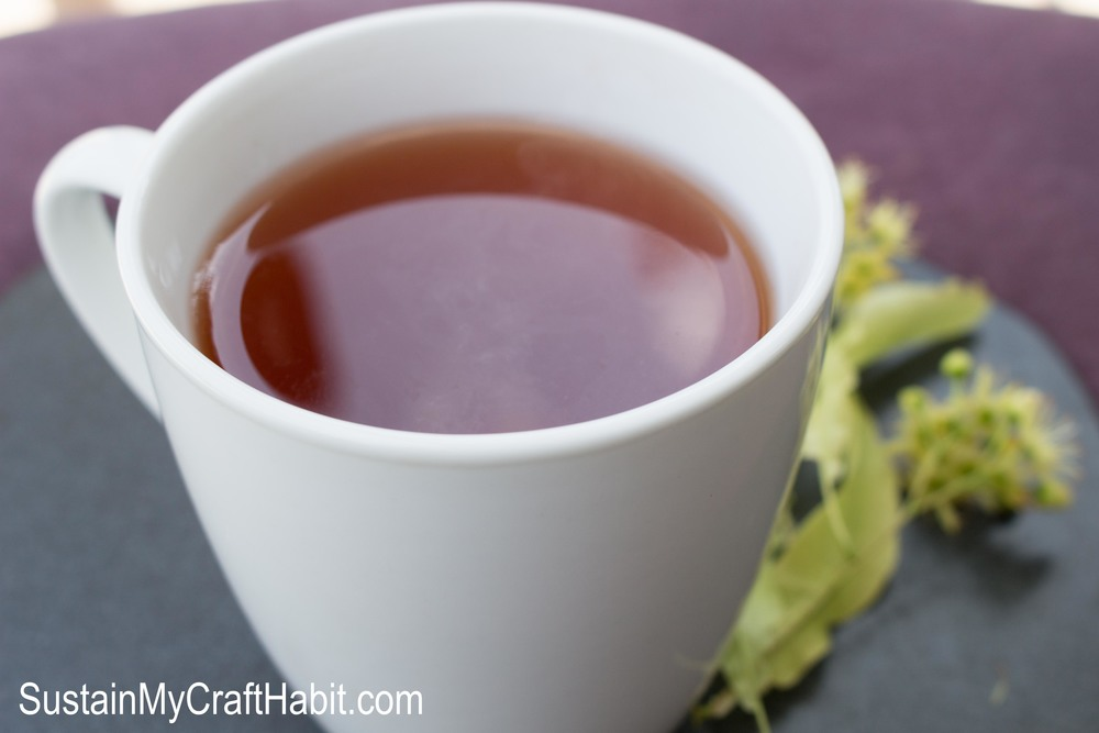 Dry your own Linden Tea- SustainMyCraftHabit.com