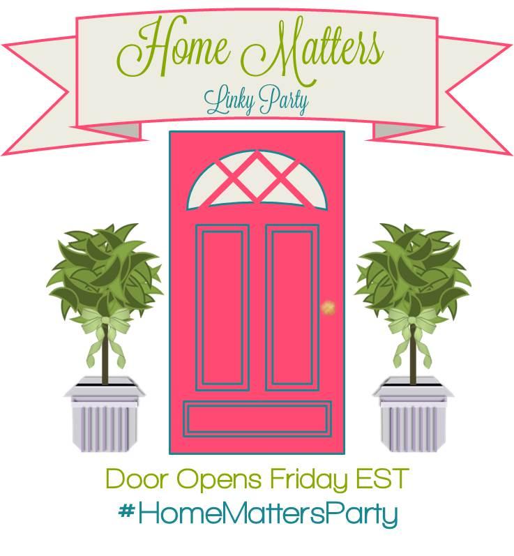 HomeMattersParty #54 - SustainMyCraftHabit