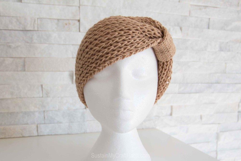 Knitted headband or neck warmer  - SustainMyCraftHabit-1767.jpg