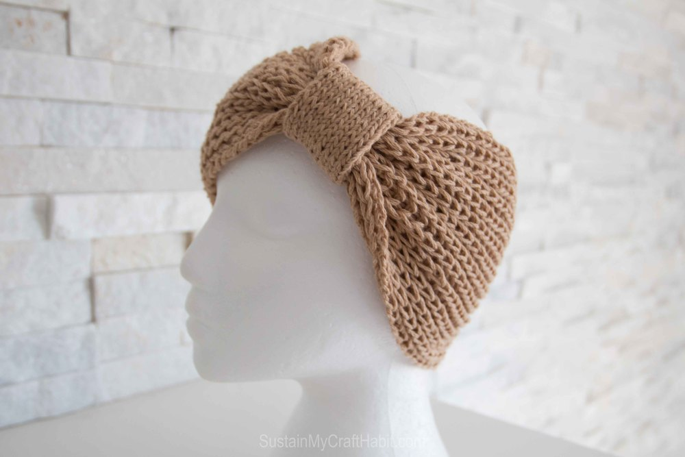 Knitted headband or neck warmer  - SustainMyCraftHabit-1770.jpg