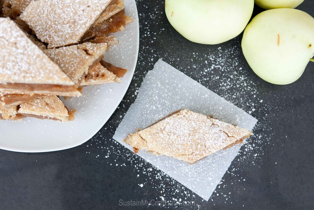 An alternative to the traditional apple pie: mom's scrumptious apple pita recipe - SustainMyCraftHabit