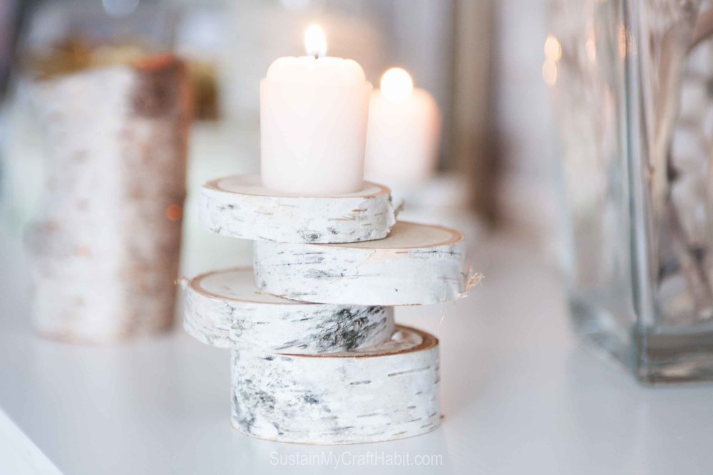 Nature-made lighting decor - beach found birch bark votive holder - SustainMyCraftHabit-9433.jpg