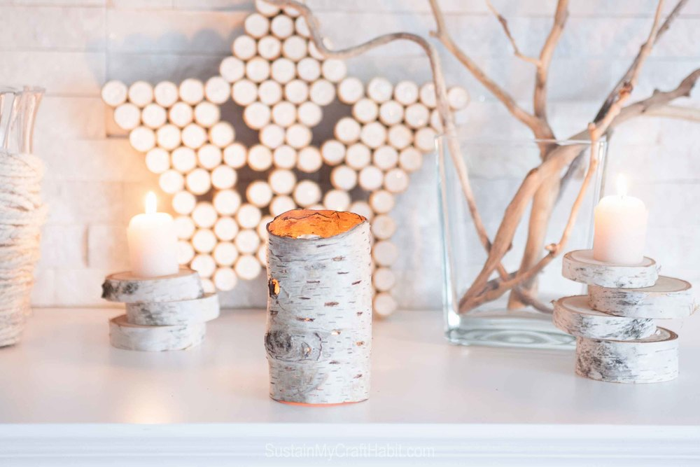 Nature-made lighting decor - beach found birch bark votive holder - SustainMyCraftHabit-6740.jpg