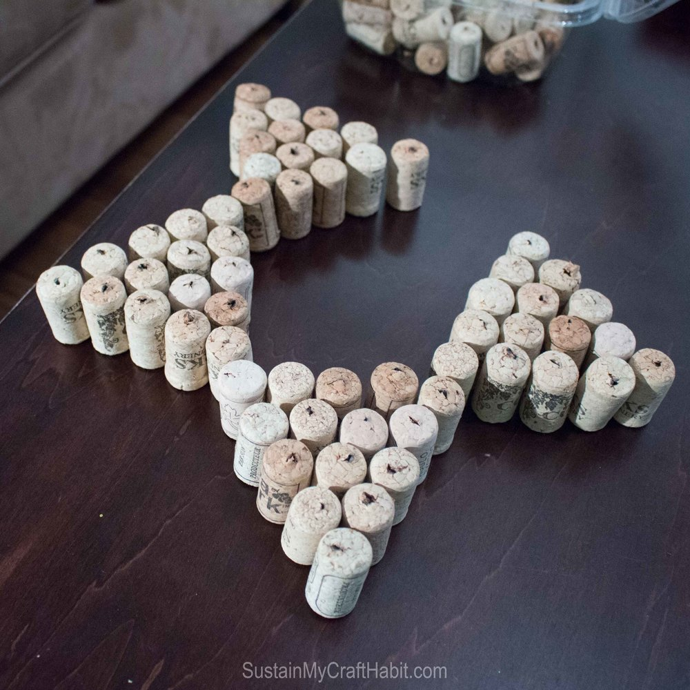 Upcycle wine bottle corks into holiday stars and trees - SustainMyCraftHabit -2158.jpg