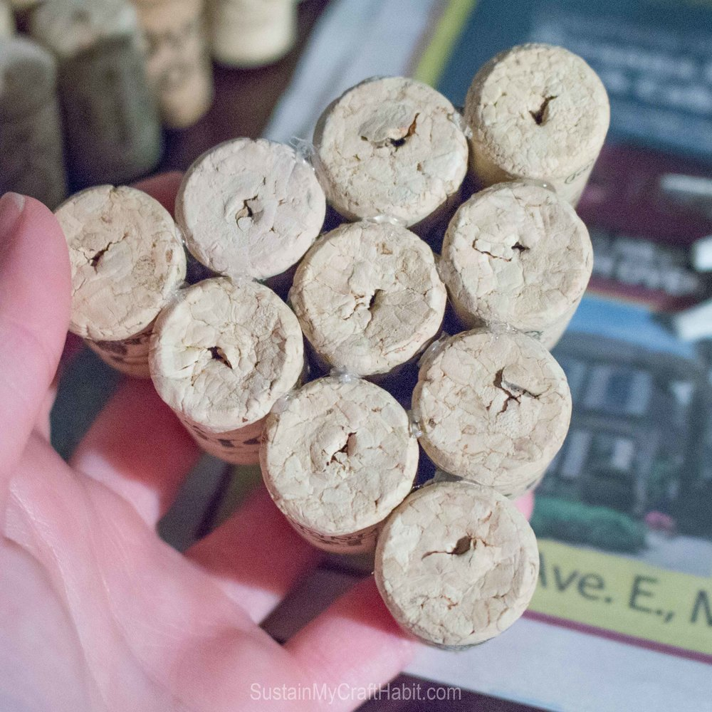 Upcycle wine bottle corks into holiday stars and trees - SustainMyCraftHabit -2162.jpg