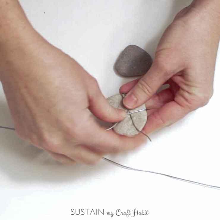 Heart of stone rustic DIY mobile - SustainMyCraftHabit-5.JPG