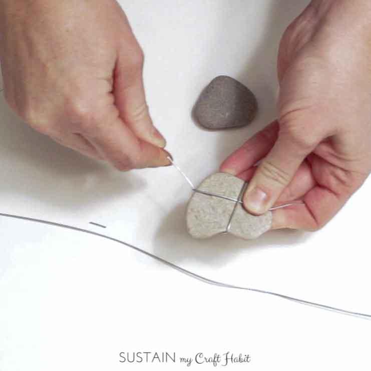 Heart of stone rustic DIY mobile - SustainMyCraftHabit-4.JPG