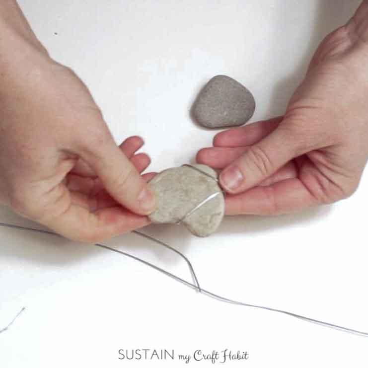 Heart of stone rustic DIY mobile - SustainMyCraftHabit-10.JPG