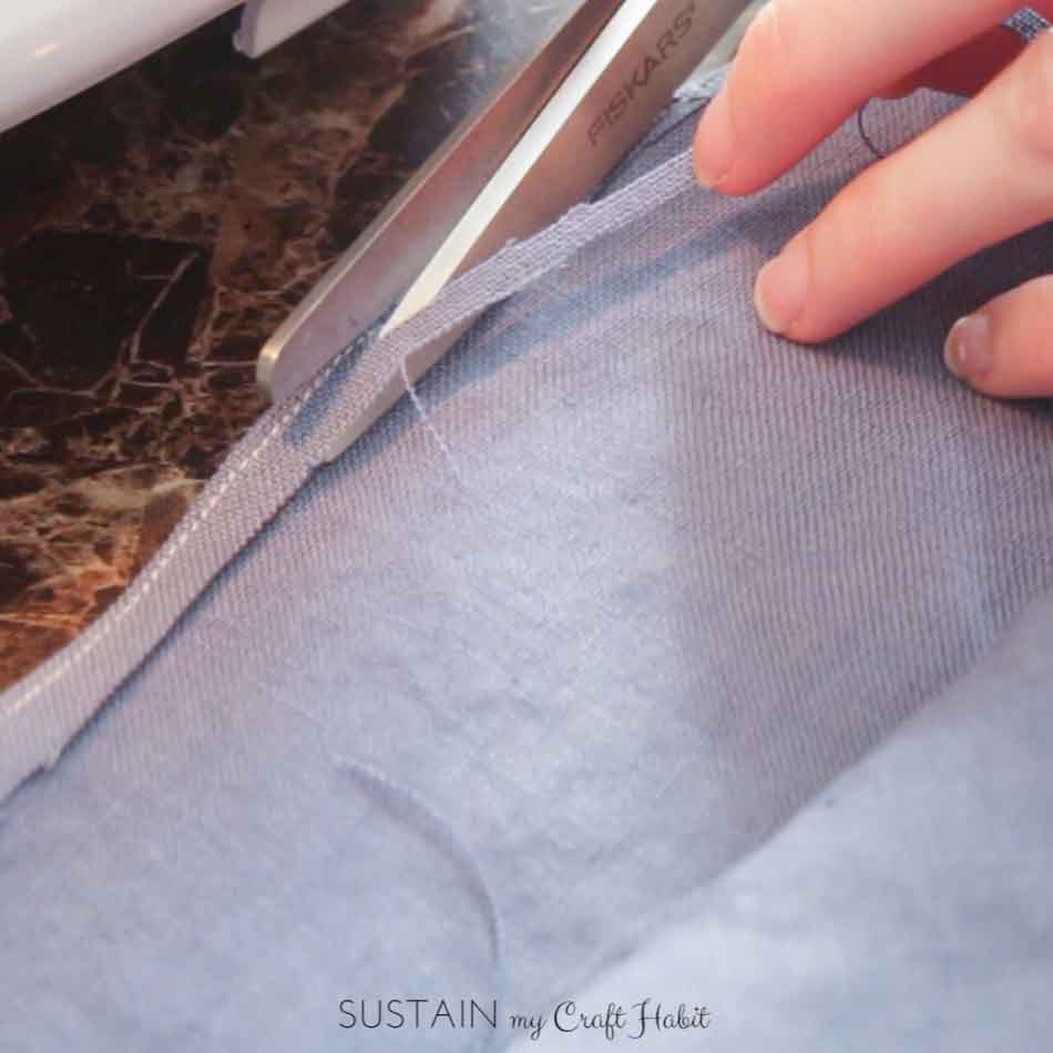 DIY linen napkins and twine nautical rings - SustainMyCraftHabit-2-2.JPG