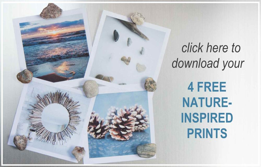 Free downloadable nature-inspired prints from SustainMyCraftHabit.com