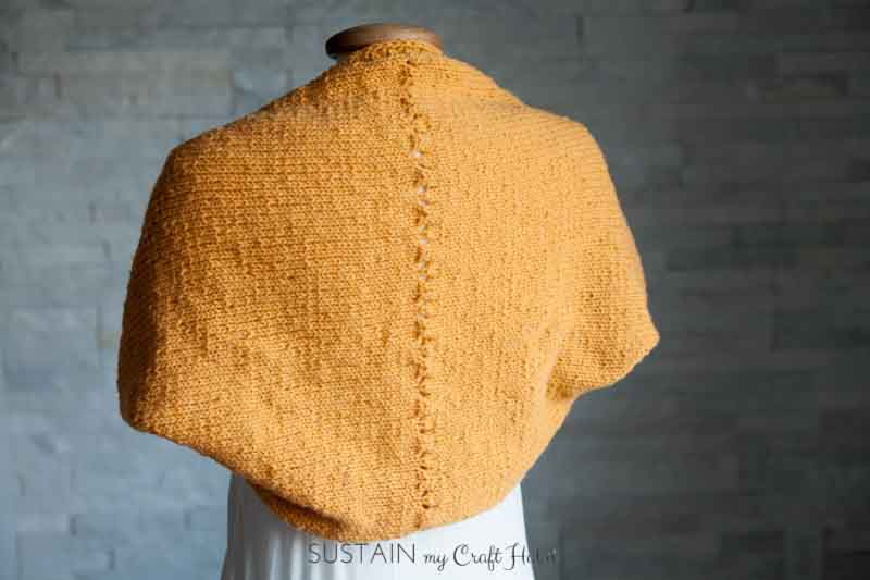 Free Shrug Knitting Patterns Easy : Simple Sunrise Shrug Free Knitting Pattern   Sustain My Craft Habit