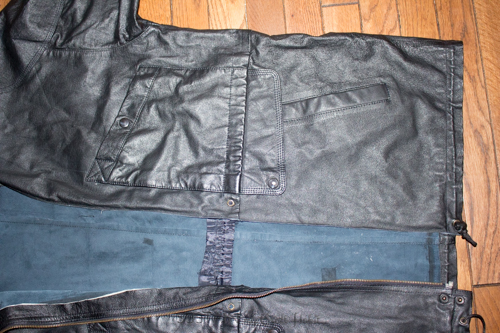 Thrift store leather jacket upcycled purse-4101.JPG