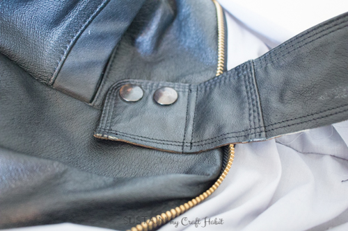 Thrift store leather jacket upcycled purse-4227.JPG