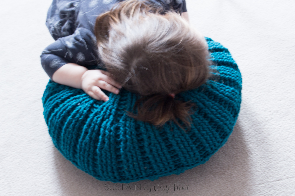 Pick up the free pattern for this coastal-inspired Sand Dollar Crochet Throw Pillow. A beautiful design for a unique home decor accessory idea.