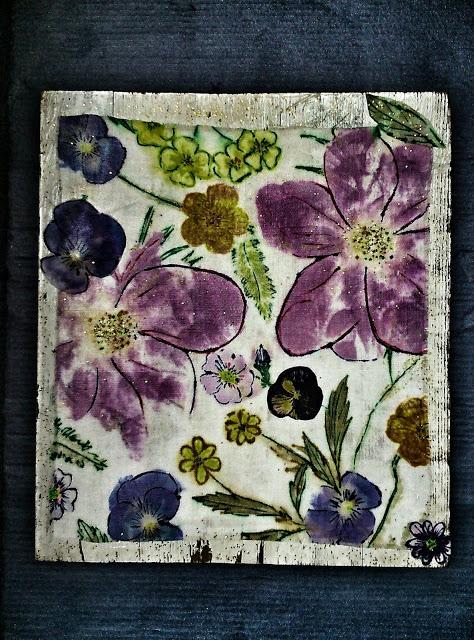Summer floral canvas Maarit Aho M'Made.jpg