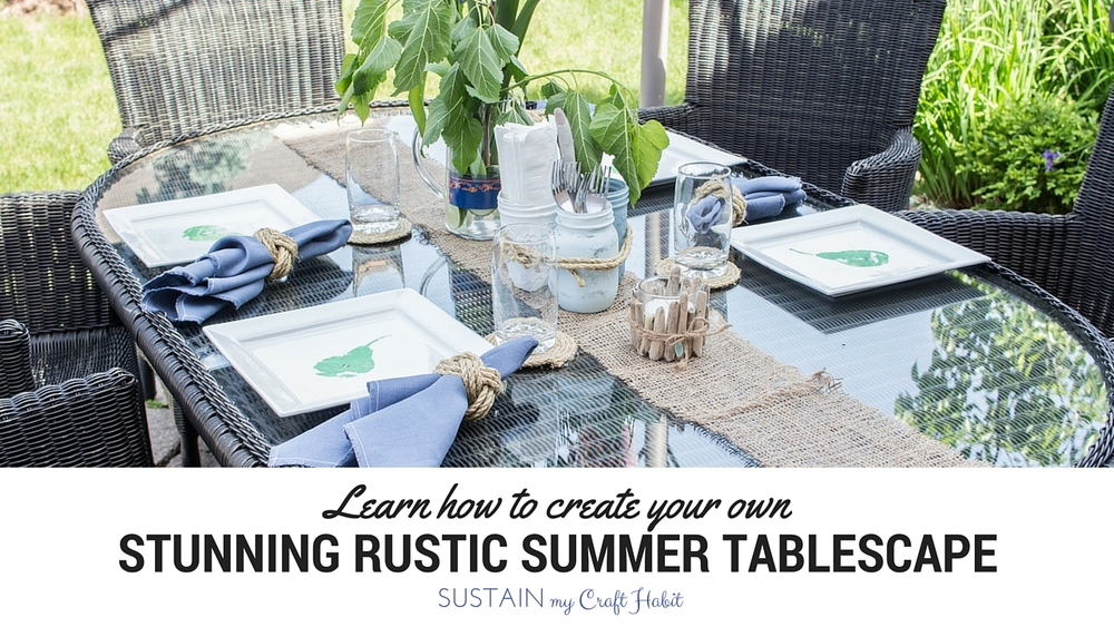 Learn how to create your own stunning tablescape with this step-by-step course to make 8 simple DIY projects. Bonus recipe and cocktail ideas included!