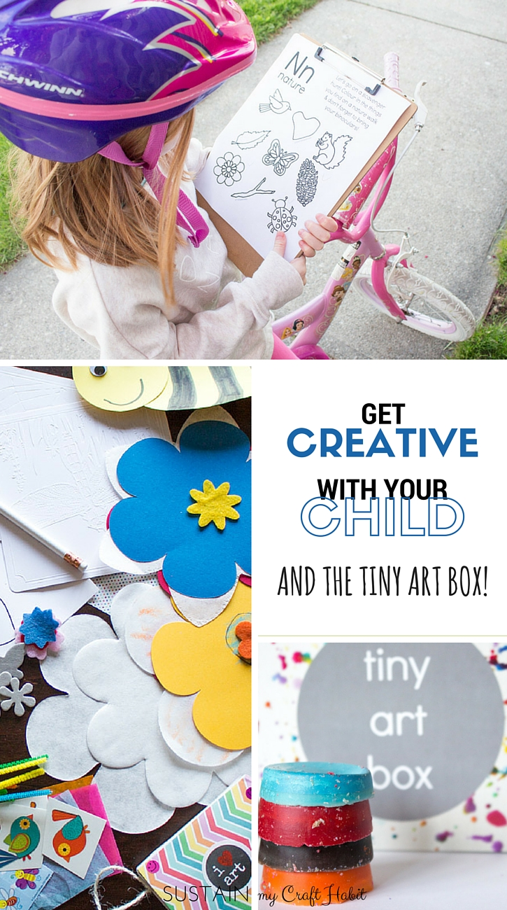 Inspiring a child's natural creativity is truly a gift to them and you. The Tiny Art Box is great monthly-themed craft box filled with beautiful and fun creative ideas for a child (and mom!).
