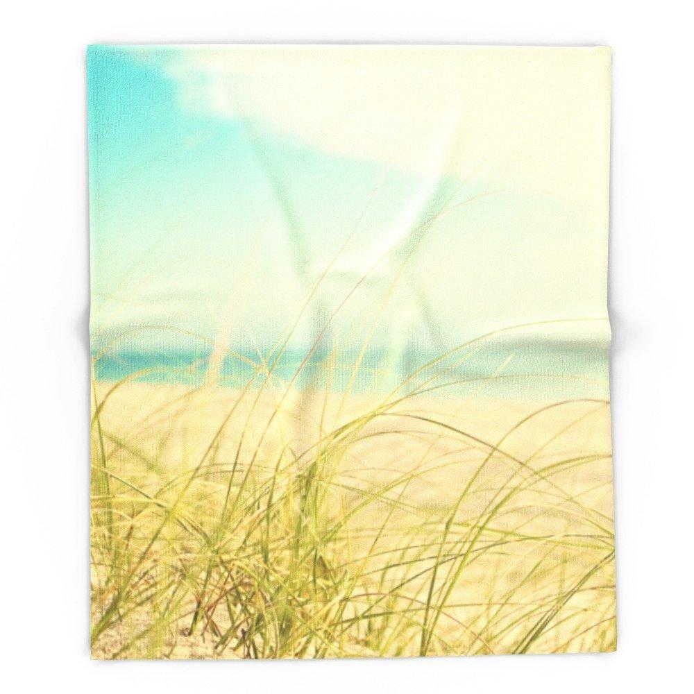Coastal Fleece-Lined Blanket