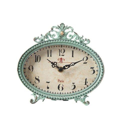 Pewter Aqua Clock