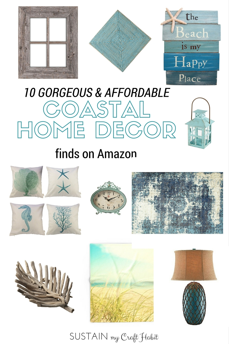 Get coastal at home or at the cottage with these fabulous beach-inspired home decor ideas!