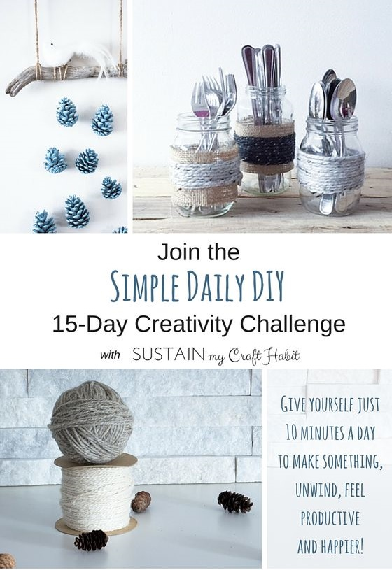 Get your craft on! Join the Simple Daily DIY 15-day creativity challenge where we'll create beautiful projects together in just 10 minutes a day. Click to learn more and join!
