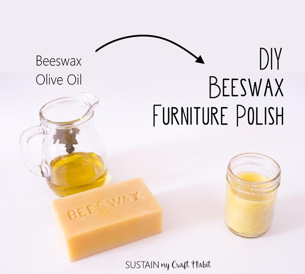 Original Beeswax Furniture Polish #17: A DIY Natural Furniture Polish Using Beeswax