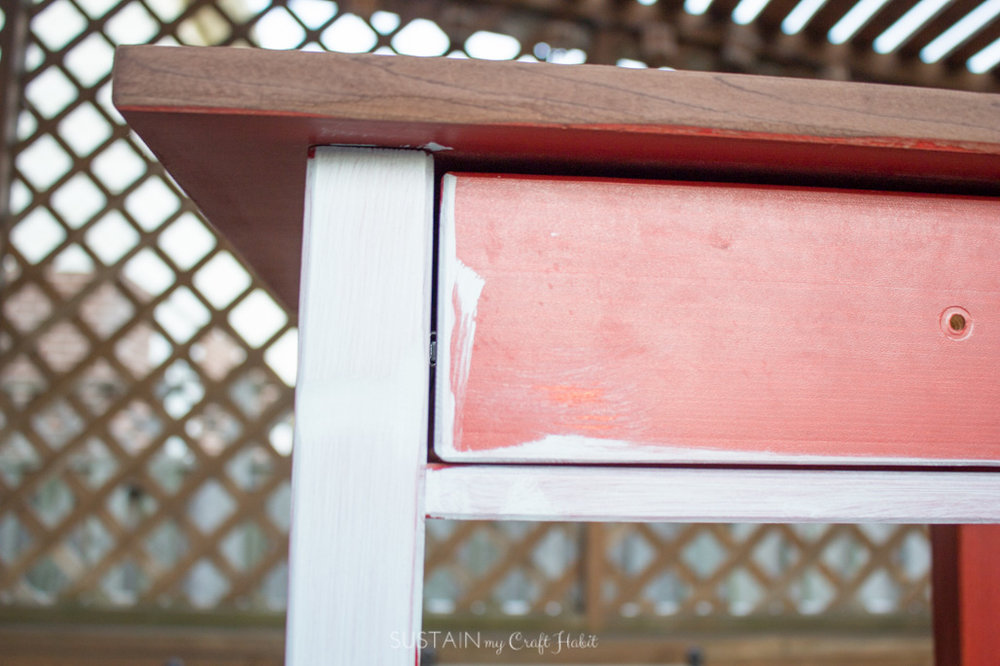 DIY Nightstand Makeover for a Natural Baby Nursery  u2014 Sustain My Craft Habit