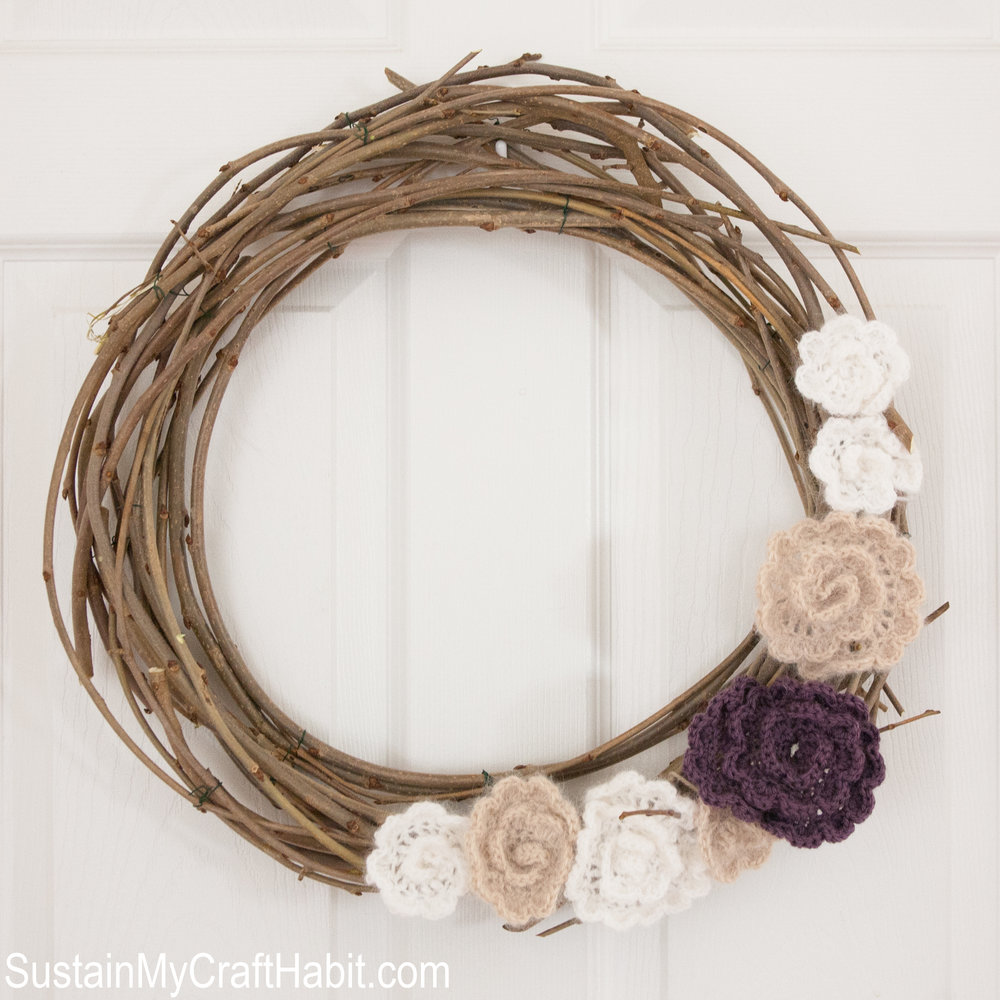 Mulberry Branch Wreath