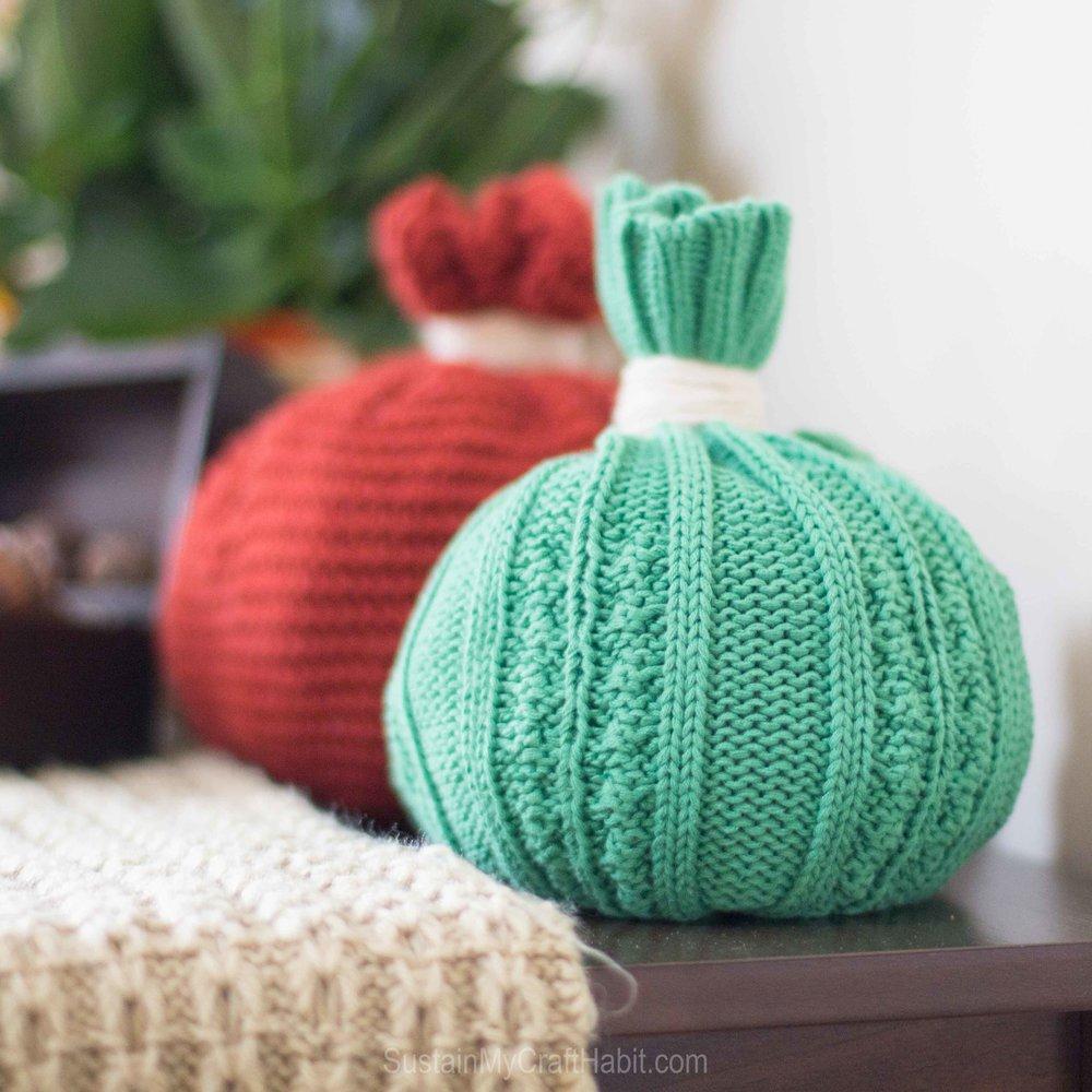 Toque pumpkins and mitten turkey  - SustainMyCraftHabit-5494.jpg