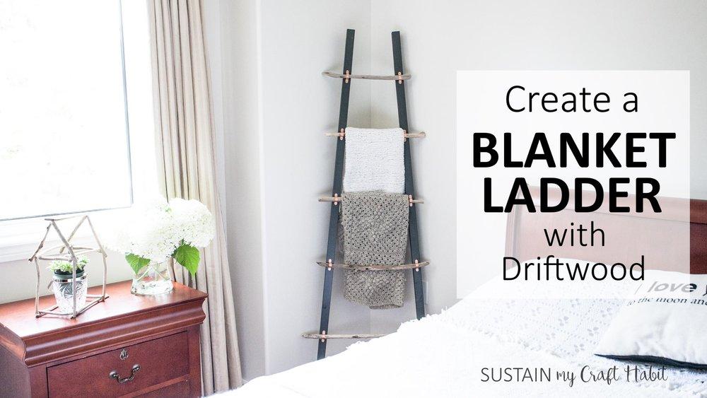 "Learn how to create the ""Graystone Beach Blanket Ladder"" through Skillshare!"