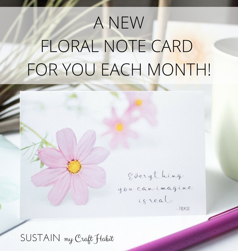 Grab beautiful, free printable greeting card templates and sign up to receive a new inspirational card each month.