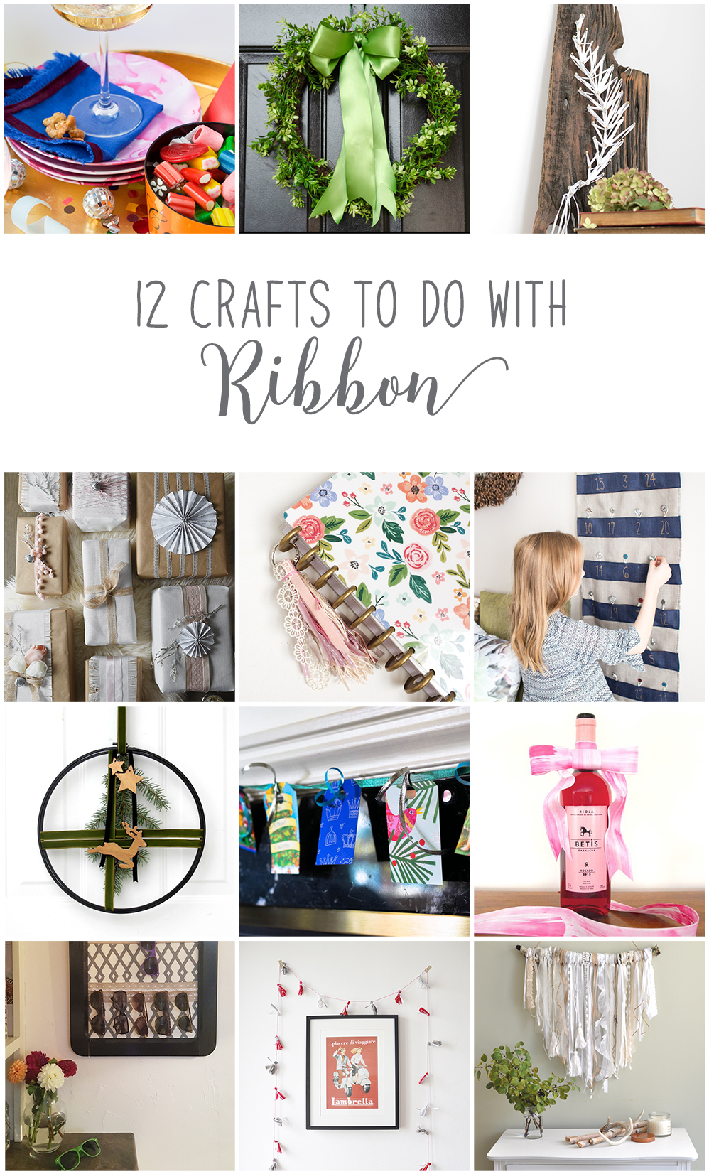 Advent Calendar Wrapping Ideas : Easy diy advent calendar with ribbon and burlap