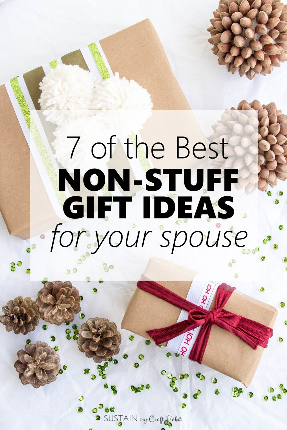 Best non-stuff gift ideas for your spouse | Throughtful gifts for husband or wife | Meaningful gifts for men and women | Christmas gift ideas for the family