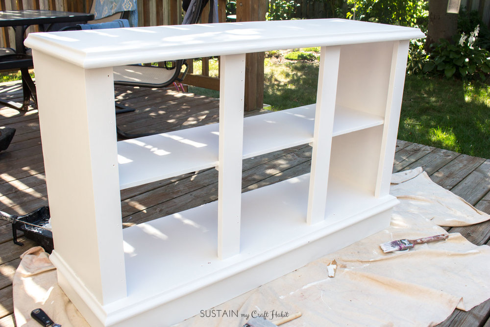 Buffet makeover to modern entertainment unit with Fusion Mineral Paint-6484.jpg