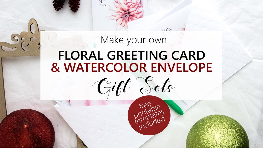 Create your own greeting cards and watercolor envelopes header Christmas.jpg