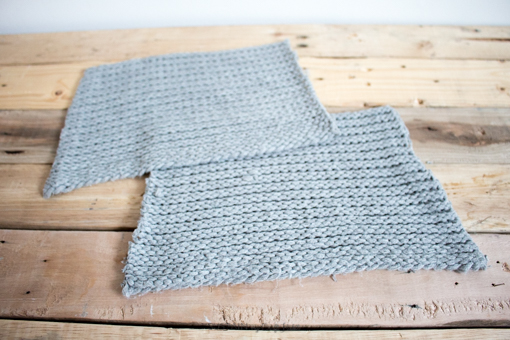 DIY flannel and upcycled knit sweater Christmas stockings-7542.jpg