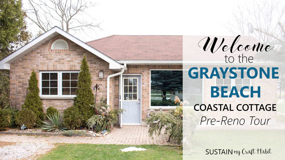 Pre-renovation tour of the Graysteon Beach coastal cottage.