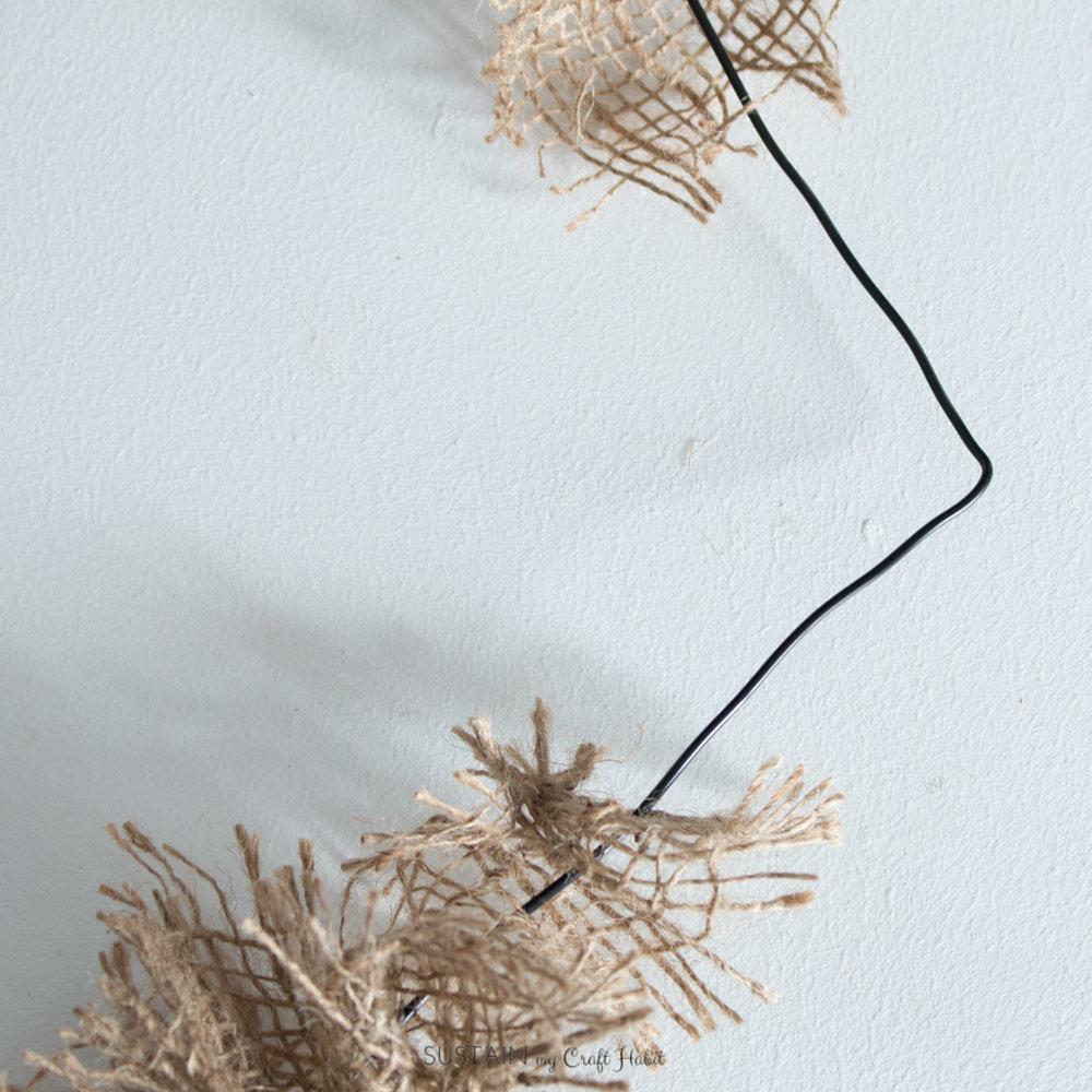 DIY coat hanger burlap heart wreath Sustain My Craft Habit-8806.jpg