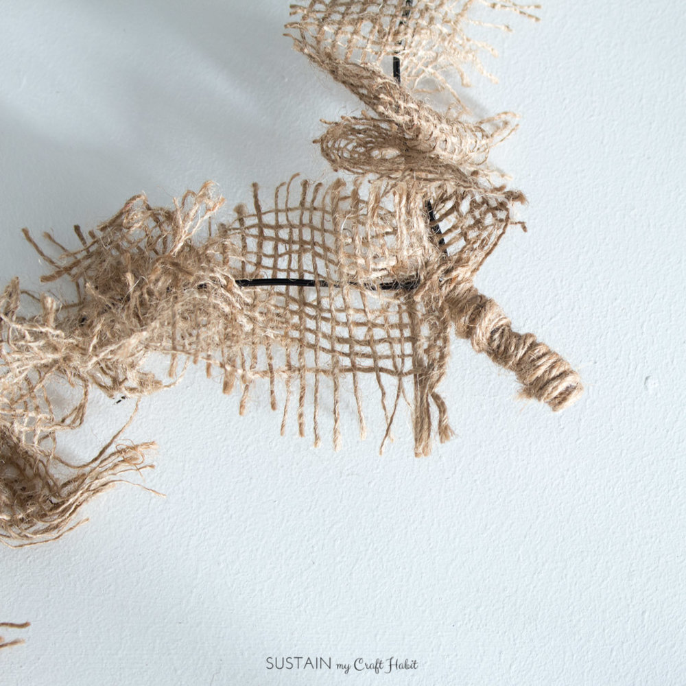 DIY coat hanger burlap heart wreath Sustain My Craft Habit-8805.jpg