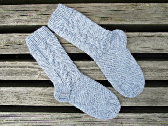 Alpaca wool socks | 40 of the best finds on Etsy