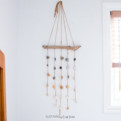 Added a simple DIY seashell chime.