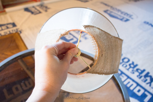 Neutral lamp makeover with burlap shade - Sustain My Craft Habit-8861.jpg