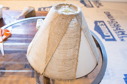 Neutral lamp makeover with burlap shade - Sustain My Craft Habit-8869.jpg
