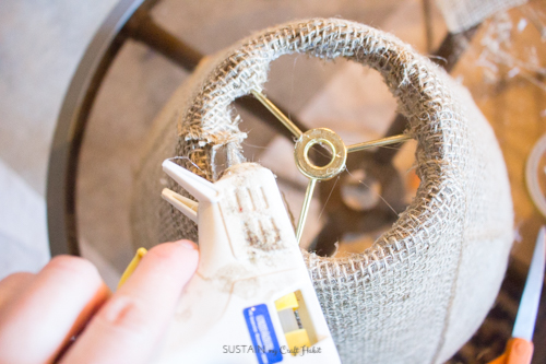 Neutral lamp makeover with burlap shade - Sustain My Craft Habit-8870.jpg