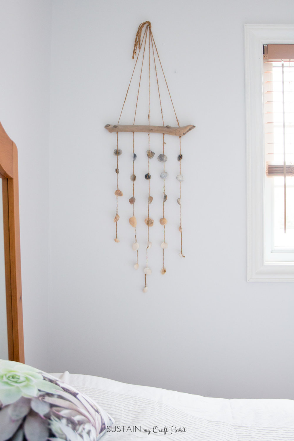 DIY Seashell Wind Chime