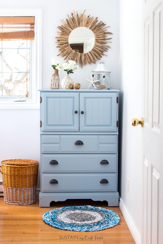 Upcycled Coastal Dresser