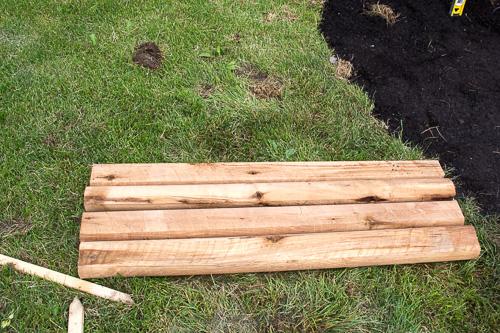 DIY raised garden box or flower bed