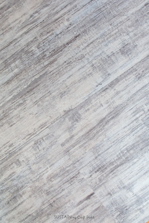 Allure Isocore plank vinyl flooring in Brushed White from The Home Depot Canada [sponsored]