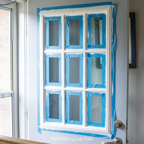 DecoArt Curb Appeal Harbor Blue paint on a front door-5628.jpg