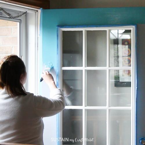 DecoArt Curb Appeal Harbor Blue paint on a front door-1-3.jpg